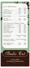 BRS-1003 - salon brochure pricelist