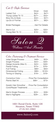 BRS-1025 - salon brochure pricelist