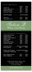 BRS-1026 - salon brochure pricelist