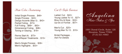 BRS-1028 - salon brochure pricelist