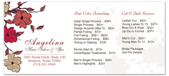 BRS-1030 - salon brochure pricelist