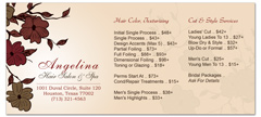 BRS-1031 - salon brochure pricelist