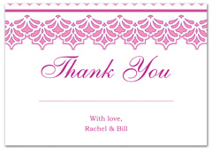 WIR-1052 - wedding thank you and response card
