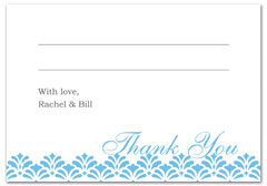 WIR-1061 - wedding thank you and response card