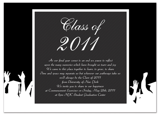 download free graduation invitation announcement black white word, Wedding invitations