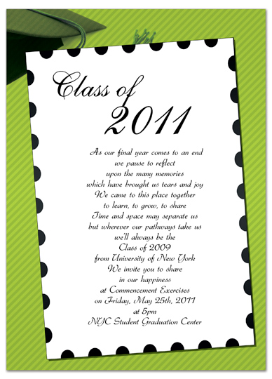 free graduation invitation templates for word download free graduation invitation announcement green