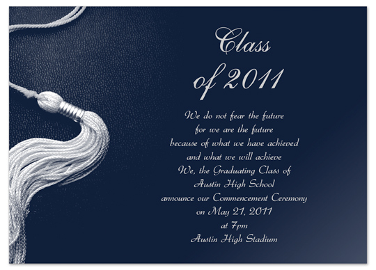 Download Printable Graduation Invitation Announcement Silver Blue – Printable Graduation Invitation Templates