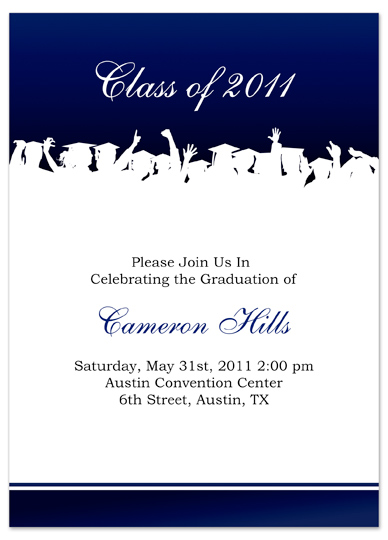 senior announcement templates free - download free graduation invitation announcement white