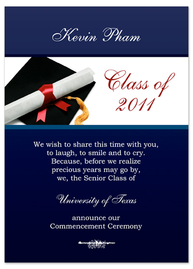 Free Graduation Invitations Announcements Party Diy Templates