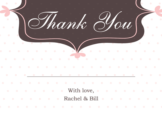 Download Printable Designs Wedding Thank You And Response Card