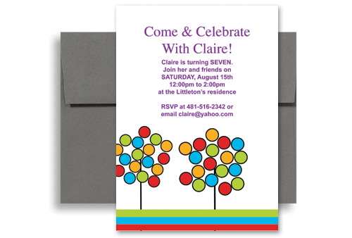 Invitation Template Kid 1088 How To Make Your Own Birthday