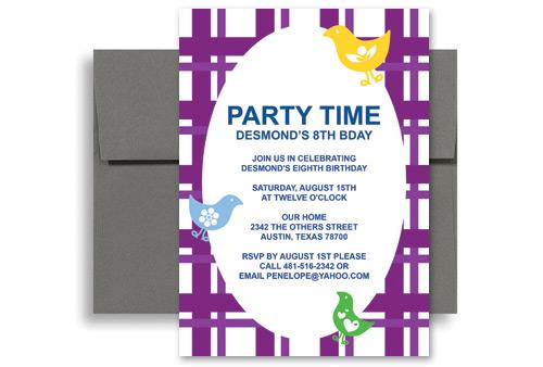 birthday invitation ideas