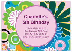 Birthday Invitation Samples  Birthday Invitation Samples