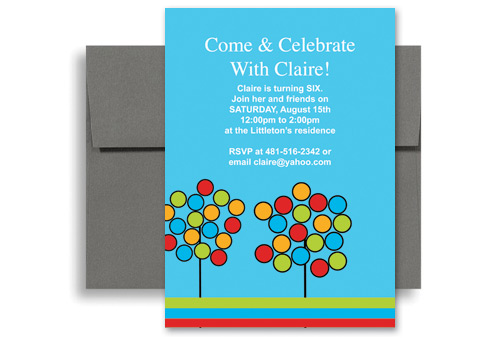 Design Print Your Own Birthday Invitation Samples X In Vertical - 5x7 birthday invitation template
