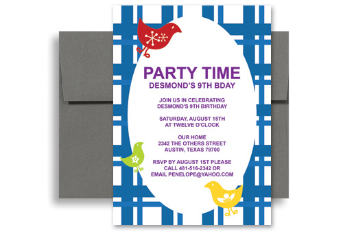 Outdoor Barnyard Bash Bbq Birthday Invitation Wording 5x7 In Vertical