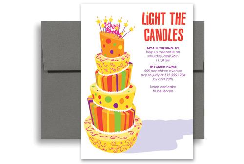 Word 2013 Birthday Invitation