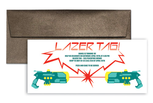 photograph regarding Laser Tag Invitations Free Printable known as Laser tag invitation wording