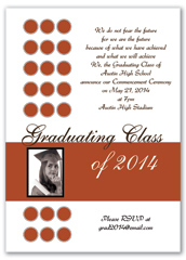 Create Your Own Photos Blank Graduation Announcement