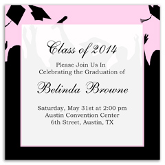Download Free Microsoft Blank Graduation Announcement