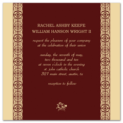Diy Wedding Invitations Free Announcement Templates
