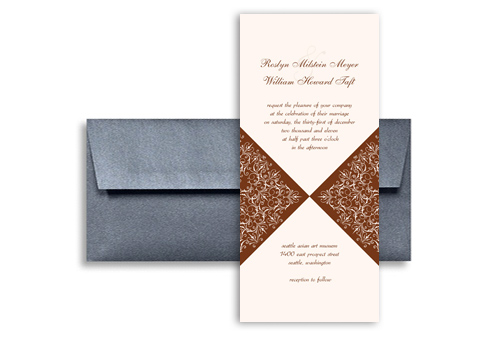 New design idea sample blank wedding invitation 4x9 in vertical new design idea sample blank wedding invitation 4x9 in vertical stopboris Image collections