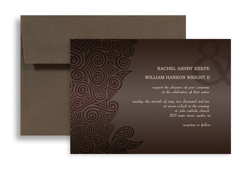 Online Software Template Blank Wedding Invitation 7x5 In Horizontal Wi 1054 Designbetty