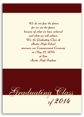 Idea Inspiration Graduation Announcement Design
