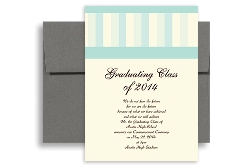 2018 cheap with discount graduation announcement sample 5x7 in