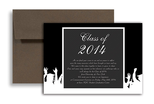 2018 creative black white graduation invitation design 7x5 in 2018 creative black white graduation invitation design 7x5 in horizontal filmwisefo Choice Image