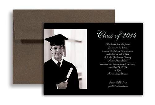 Graduation invitation template 2014