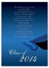 Ceremony Reception Graduation Invite