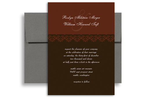 Wording Verbage Verses Microsoft Wedding Invite X In Vertical - 5x7 invitation template
