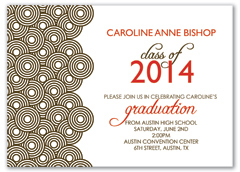 Background Clipart Personalized Graduation Invitation