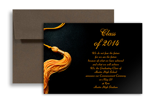 College Graduation Announcements Templates – Graduation Invite Templates Free