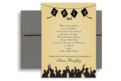 2017 Nursing School Personalized Graduation Invitation 5x7 in – Nursing School Graduation Invitations