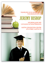 Sample College Personalized Graduation Invitation