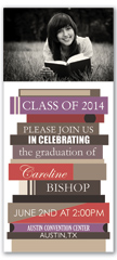 Senior Photos Personalized Graduation Invitation