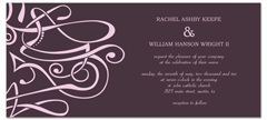 How To Make My Own Clipart Personalized Wedding Invitation