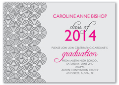 Muscial Design Printable Graduation Announcement