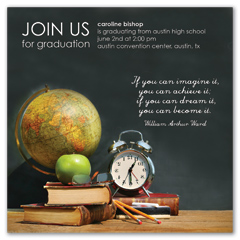 Quotations Printable Graduation Announcement