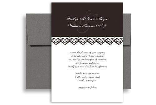 Border ribbon layout wedding invitation design 5x7 in vertical wi border ribbon layout wedding invitation design 5x7 in vertical stopboris Image collections