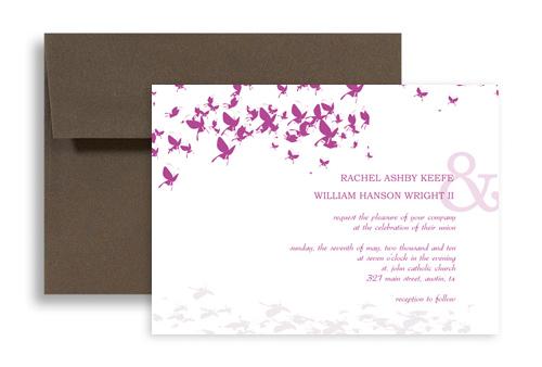 Own Erfly Wedding Invitation