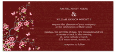 Asian Indian Red Theme Wedding Invitation Ideas