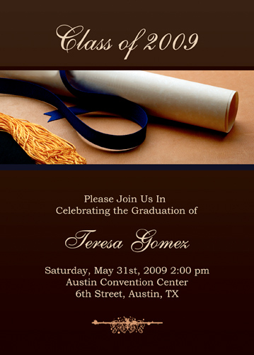 Graduation Announcements Templates Free