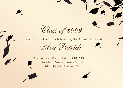 Photo Graduation Announcement Invitations
