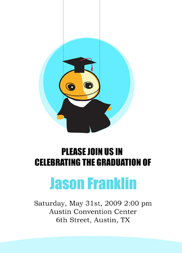 Graduation Template For Photoshop