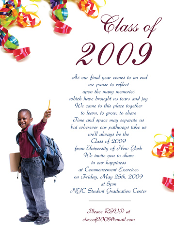 College Graduation Announcement Text