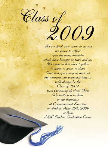 Graduation Invitation Background