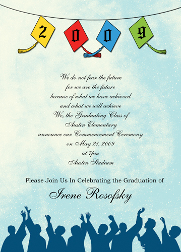 Graduation Invitations Rules