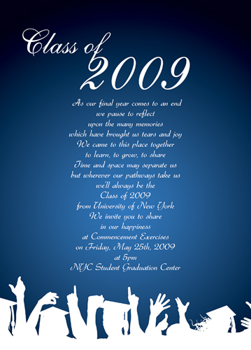 Graduation Invitation Wordings